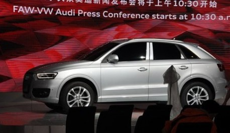 Spy Shots: China-made Audi Q3 arrives at the Guangzhou Auto Show