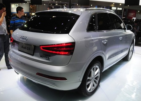 China-made Audi Q3 debuts at the Guangzhou Auto Show