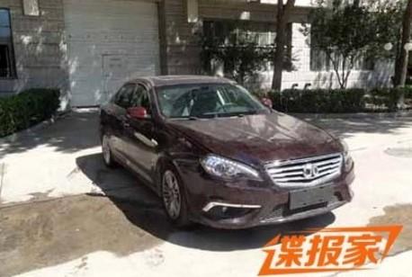 Spy Shots: Beijing Auto Shenbao is ready for the China car market