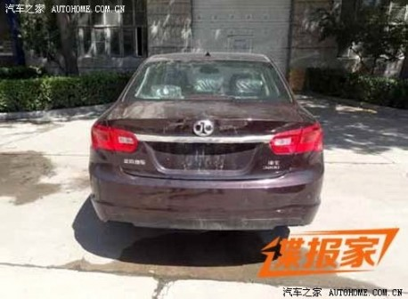 Spy Shots: Beijing Auto Shenbao is ready for the China car market