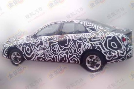 Spy Shots: Beijing Auto C50E seen testing in China, will get 1.5 turbo
