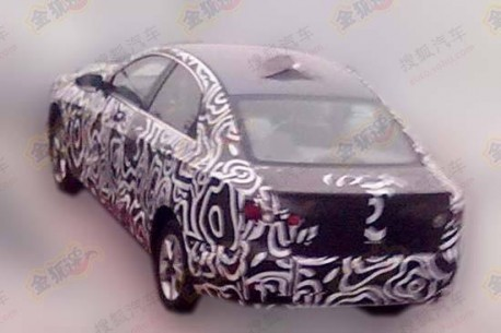 Spy Shots: Beijing Auto C50E seen testing in China, will get 1.5 turbo