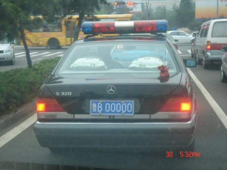 Mercedes-Benz W140 S-class motorcade car from China