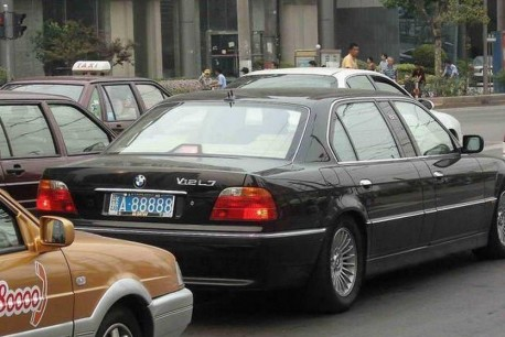 Spotted in China: BMW L7 in Shanghai