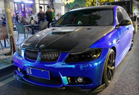 BMW M3 loox Faster in China
