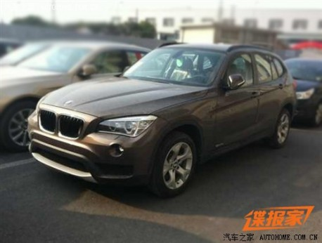 Spy Shots: facelift for the BMW X1 in China
