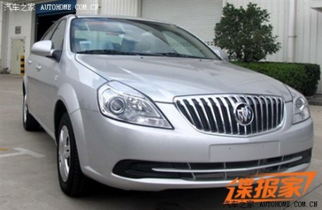 Spy Shots: facelifted Buick Excelle is Naked in China