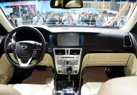 BYD Si Rui debuts at the Guangzhou Auto Show