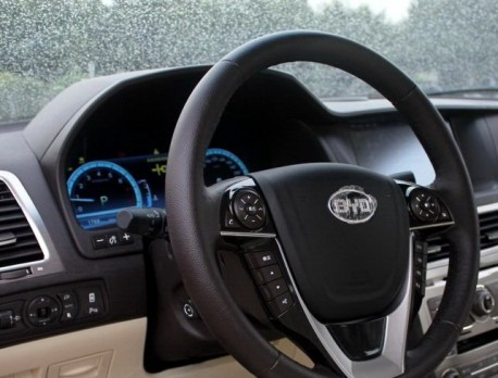 BYD Si Rui arrives at the Guangzhou Auto Show