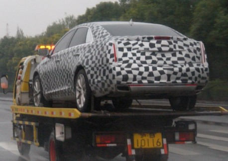 Spy Shots: Cadillac XTS gets a Ride in China
