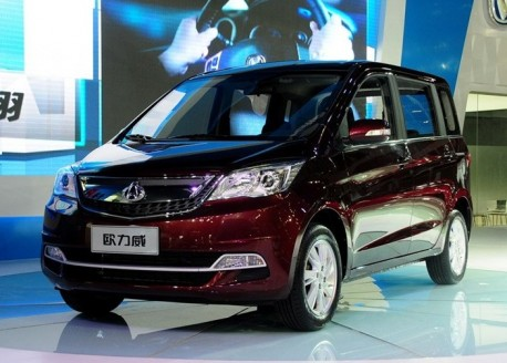 Chang'an Ouliwei debuts at the Guangzhou Auto Show