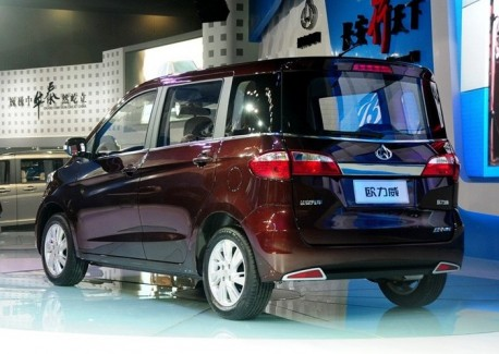 Chang'an Ouliwei debuts at the Guangzhou Auto Show