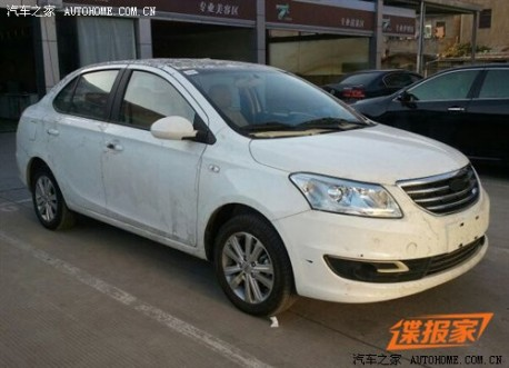 Spy Shots: Chery E3 is Dirty in China