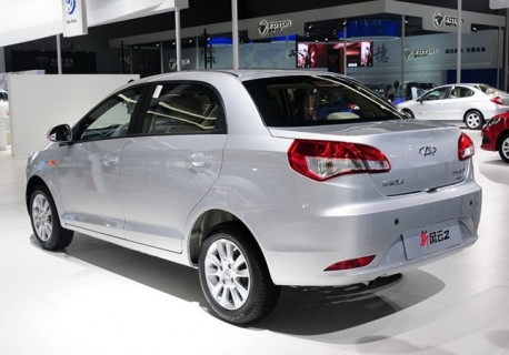 Facelifted Chery Fulwin 2 debuts at the Guangzhou Auto Show
