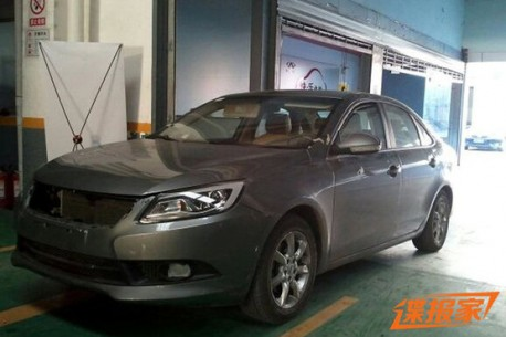 Spy Shots: Chery M16 is Naked in China