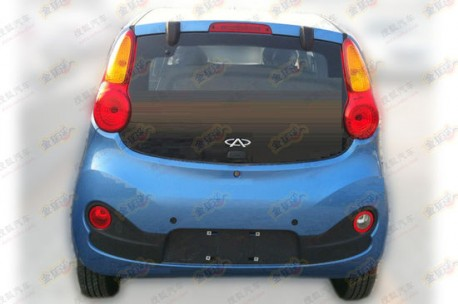 Spy Shots: new Chery QQ is smiling at ya'