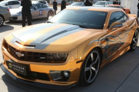 Chevrolet Camaro is Gold in China