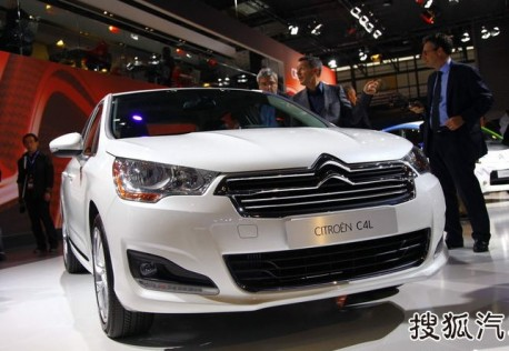 China-made Citroen C4L will debut on the Guangzhou Auto Show