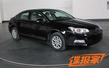 Spy Shots: facelift for the Citroen C5 in China