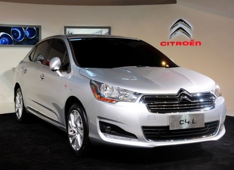 China-made Citroen C4L debuts at the Guangzhou Auto Show
