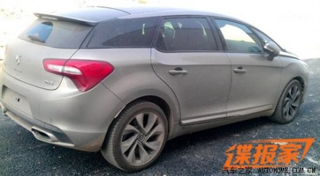 Spy Shots: China-made Citroen DS5 will debut in 2013