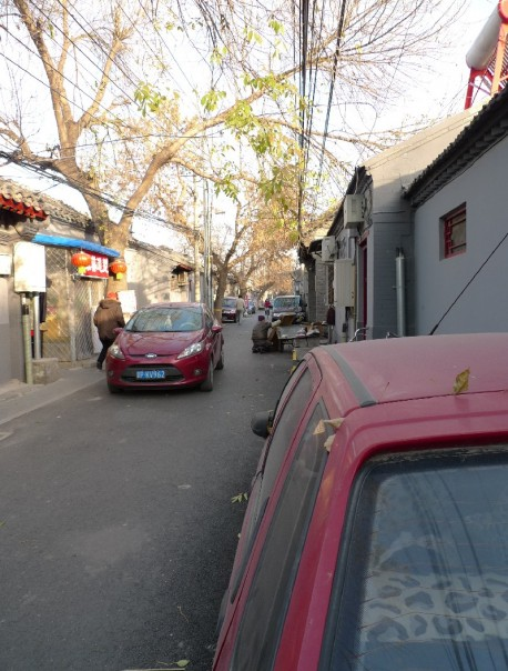 Citroen Fukang screwed by the Public Works Department in Beijing