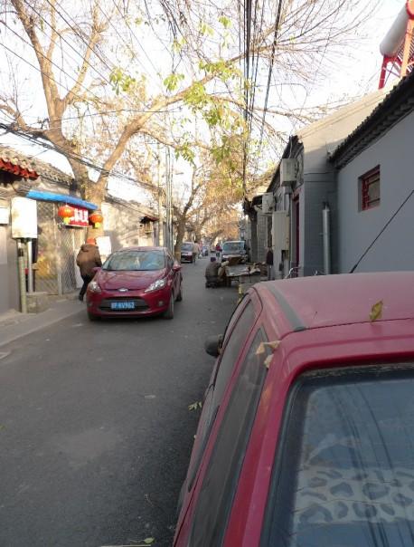 Citroen Fukang screwed by the Public Works Department in Beijing