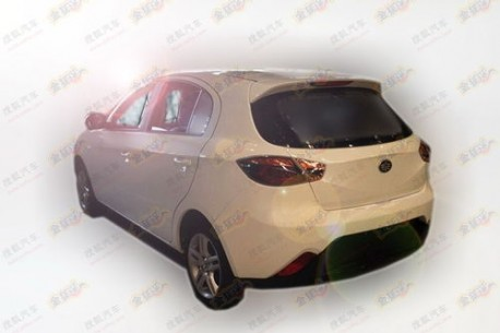 Spy Shots: FAW Oley hatchback testing in China