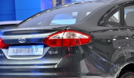 facelifted Ford Fiesta arrives at the Guangzhou Auto Show
