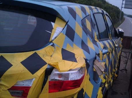 Spy Shots: Haima C2 SUV gets the Chrome in China