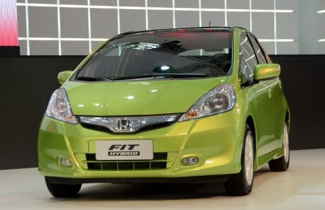 Honda Fit Hybrid launched on the Guangzhou Auto Show
