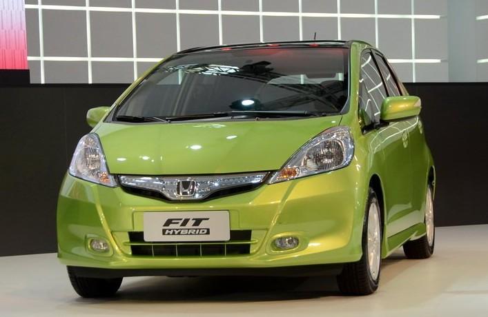 Honda Fit Hybrid Launched On The Guangzhou Auto Show Carnewschina Com