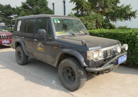 Spotted in China: Hyundai Galloper