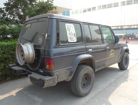 Spotted in China: Hyundai Galloper