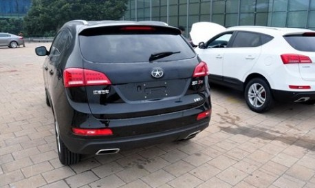 JAC Eagle S5 SUV arrives at the Guangzhou Auto Show