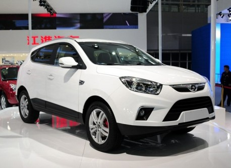 JAC Eagle S5 SUV debuts at the Guangzhou Auto Show
