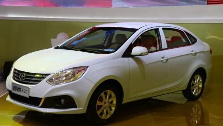 Guangzhou Auto Show: JAC BII = JAC Heyue A30