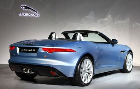 Jaguar F-Type launched on the China auto market