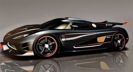 Koenigsegg One:1 is coming to China, times 5