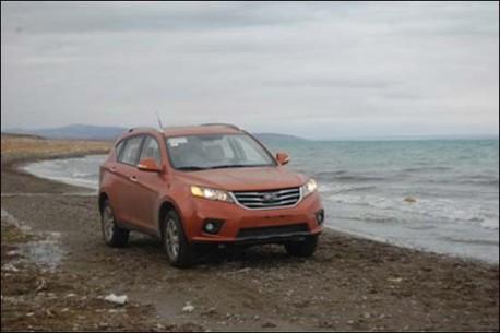 Spy Shots: Landwind E31 SUV hits the Beach in China