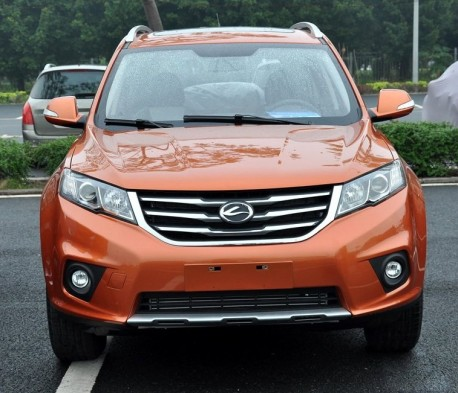 Landwind X5 SUV arrives at the Guangzhou Auto Show