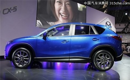 Mazda China sales down 45% in October