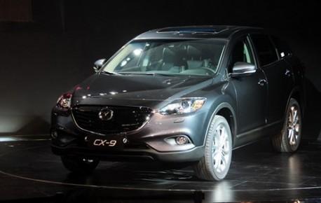 Mazda CX-9 hits the China car market