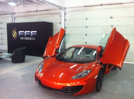 McLaren MP4-12C finally officially in China