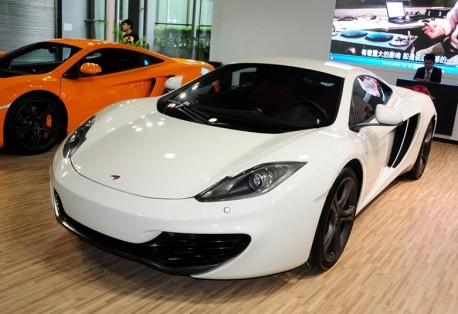McLaren MP4-12C on the Guangzhou Auto Show