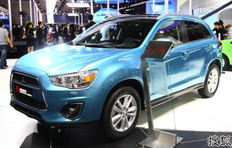 China-made Mitsubishi ASX launched on the Chinese auto market