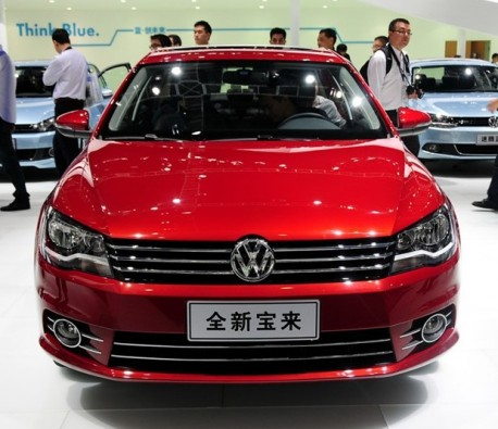 Facelifted Volkswagen Bora launched at the Guangzhou Auto Show