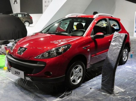 Peugeot Cross 207 launched at the Guangzhou Auto Show