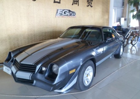 Spotted in China: second-generation Chevrolet Camaro