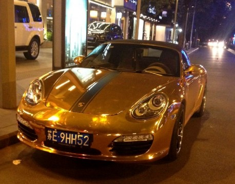 Porsche Boxster is Gold in China